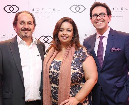 Philipe Seigle, Marcelle Medeiros e Netto Moreira