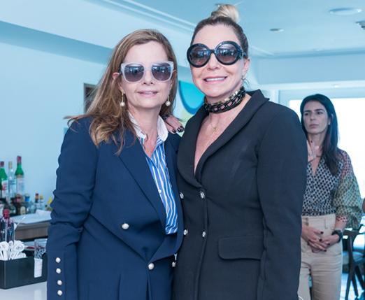 Priscila Bentes e Nina Kauffmann