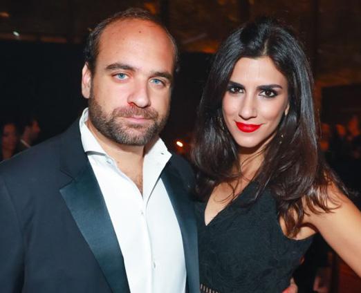 Ray Nasser e Fernanda Krongold