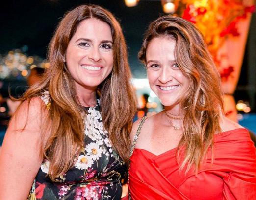 Renata Martins e Maria Teixeira de Mello