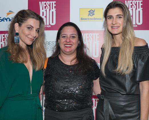 Renata Reis, Silvia Rogar e Barbara Migliori