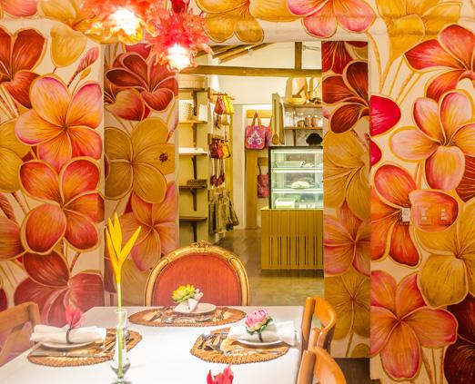 Restaurante Jasmin Manga, em Trancoso