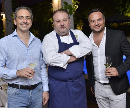 Ricardo Costa, Érick Jacquin e Bastien Castell
