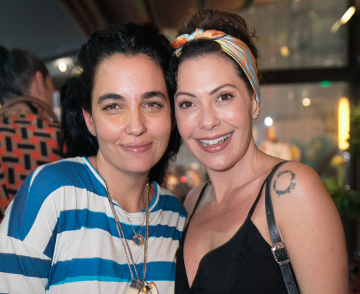Rita Wainer e Fabiola Nascimento