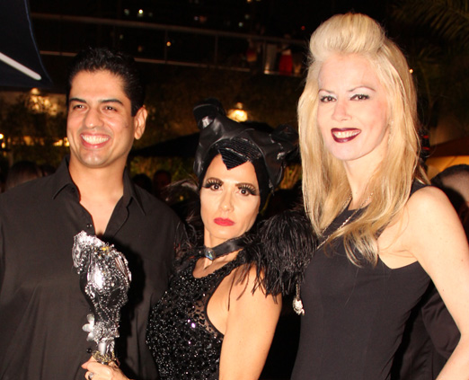 Rodrigo Raposo, Adriana Alves e Giovanna Priolli
