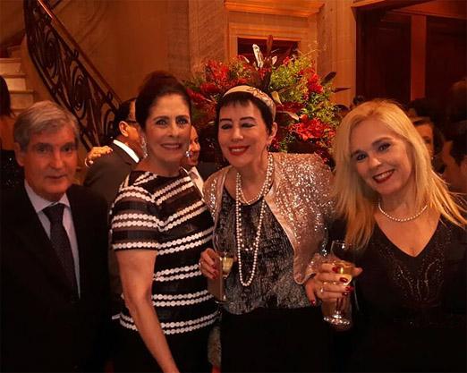 Sergio Costa e Silva, Regina Marcondes Ferraz, Yacy Nunes e Marisa Araújo