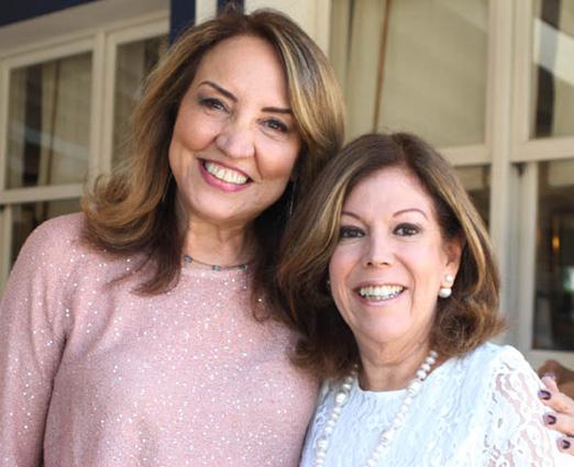 Sumaya Neves e Sylvia de Castro