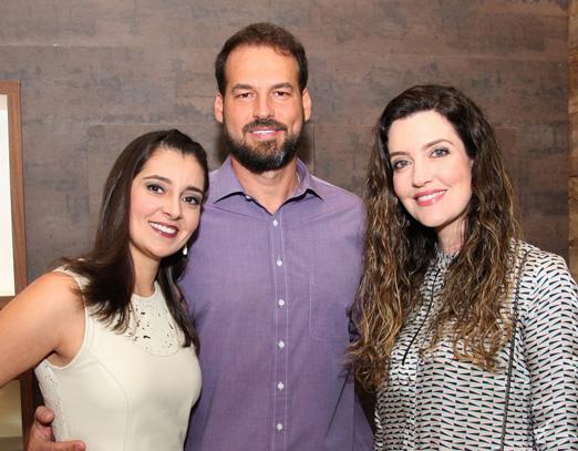 Tatiana Ferreira, Marcelo Ferreira e Larissa Maciel