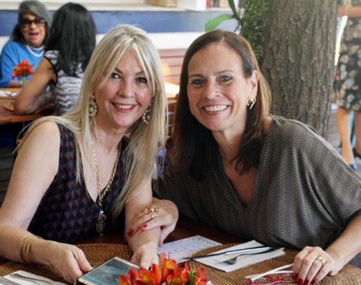 Teresinha Matta e Teresa Calero