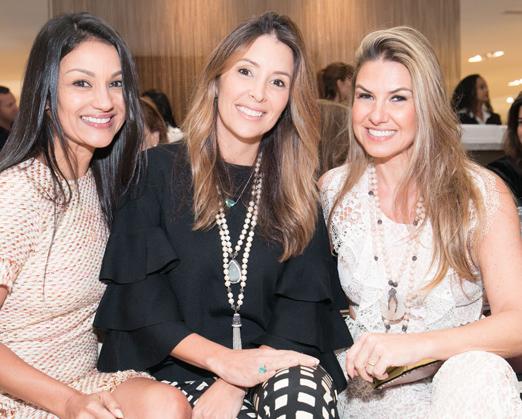 Vania Santiago, Tatiana Carvalho e Lais Bacchi