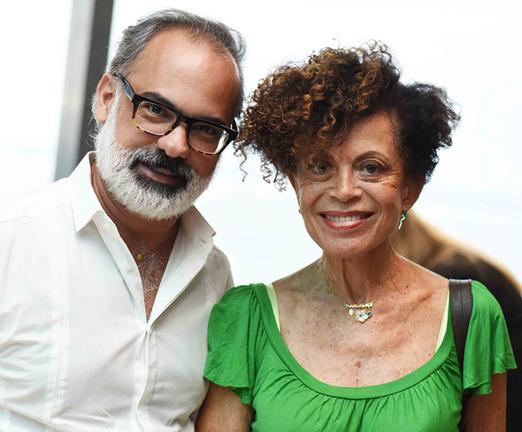 Wagner Menezes e Maria Alice Celidonio