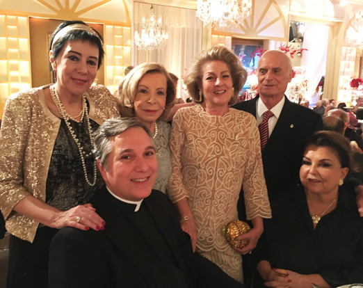 Yacy Nunes, Padre Edivino, Ilka Bambirra, Margareth Padilha e Maria Clara Tapajós
