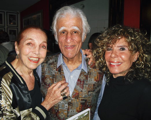 Ziraldo entre Marina Colasanti e Gilsse Campos