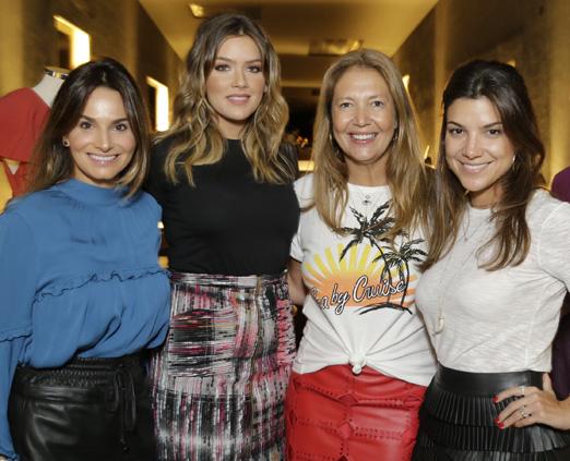 Adriana Pelosini, Marcella Tranchesi, Donata Meirelles e Fernanda Vidigal