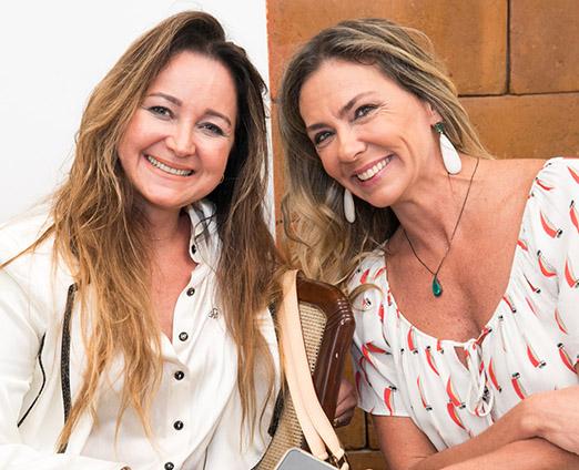 Alessandra Pirotelli e Márcia Veríssimo