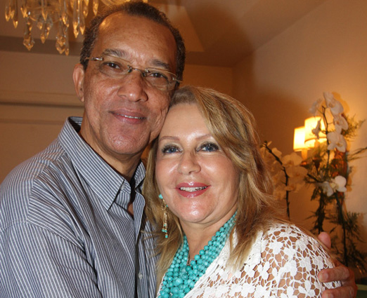 Amaro Leandro e Isis Penido