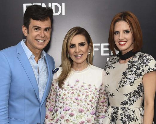 Amilton Macedo, Nadia Fares e Priscila Real