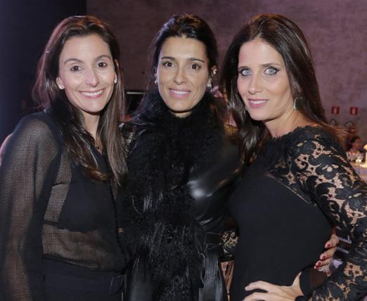 Ana Auriemo, Mariana Batochio e Suzana Fonseca