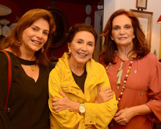 Andrea Buffara, Tanit Galdeano e Sueli Stambowsky
