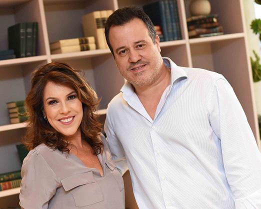 Andrea Neves Duarte e Nicolas Delfino