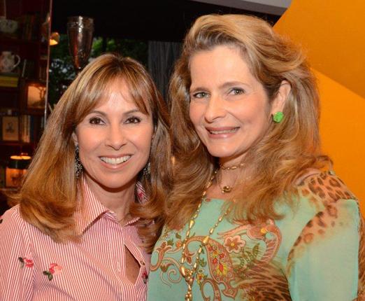 Andrea Rudge e Ana Paula Leão Teixeira