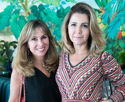 Andrea Rudge e Carol Siniscalchi