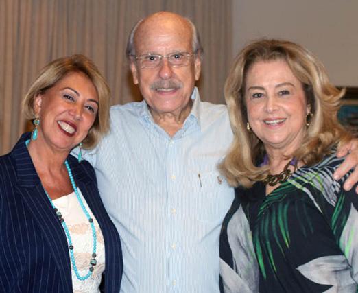Angela Costa, Claudio Aboim e Diana Vianna