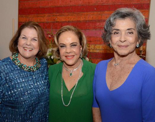 Anna Ramalho, Regina Rique e Beth Faria