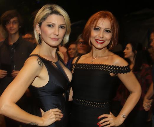 Antonia Fontenelle e Simone Soares