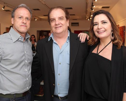 Antonio Braga, Rawlson de Thuin e Alice Barbosa Lima