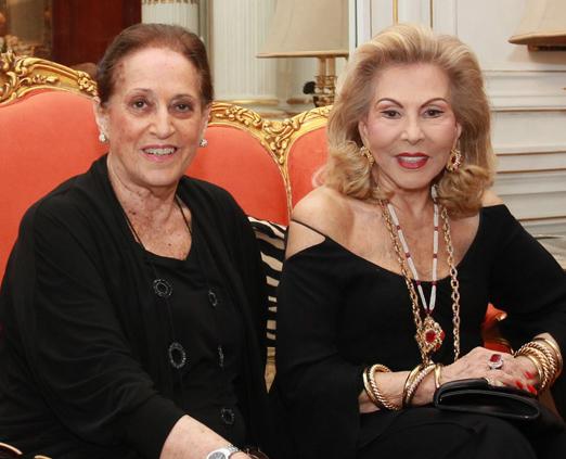 Belita Tamoyo e Mariza Coser