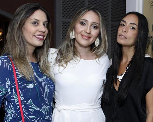 Bruna Martins, Erica Bourguignon e Karla Ortiz