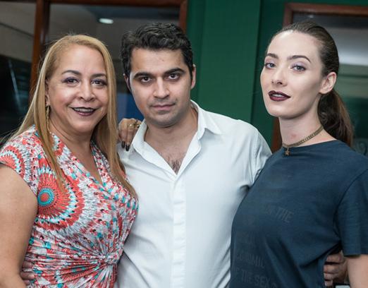 Candida Virgínia Ribeiro, Nicolas Berreteaga e Aline de Bairros
