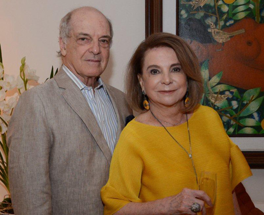 Carlos Alberto e Regina Andrade Pinto