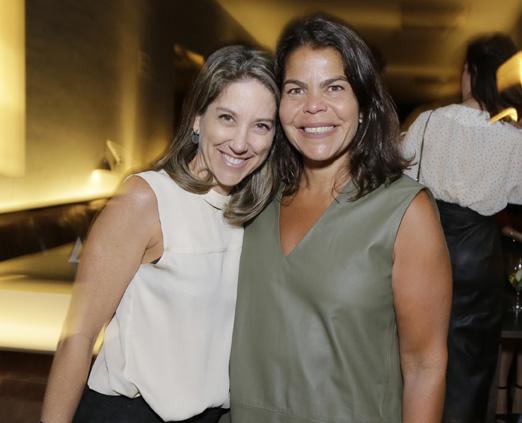 Carol Quinteiro e Daniela Falcão