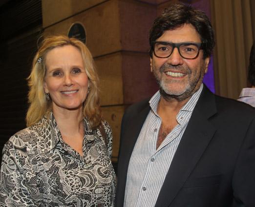 Catharina Attena e Sergio Zalis