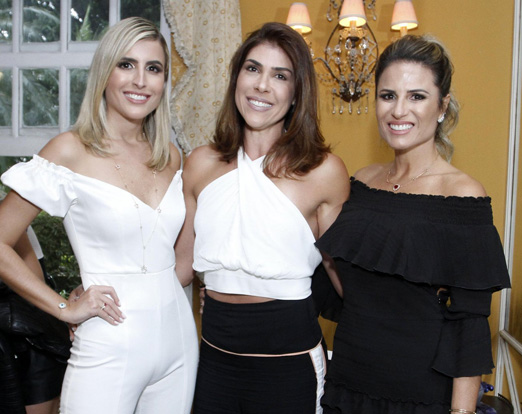 Dandynha Barbosa, Juliana Ajuz e Ana Paula Barbosa