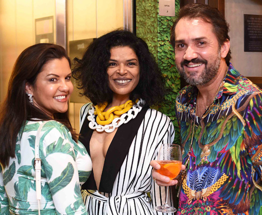 Dani Pappini, Elsaine Von Blanckenhagen e Beto Silva