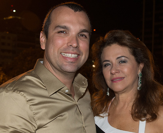 Daniel Contrin e Marta Isaksen