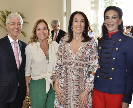 Daniel Sauer, Esther Giobbi, Marina Sauer e Christiana Neves da Rocha
