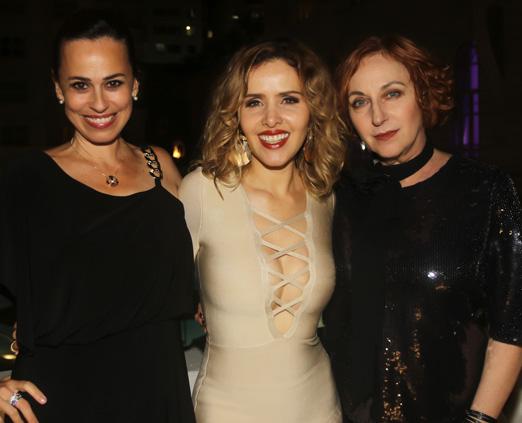 Daniela Escobar, Leona Cavalli e Lu Grimaldi