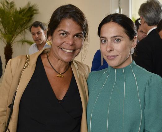Daniela Falcão e Stephanie Wenk