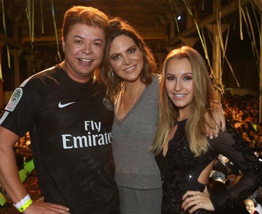 David Brazil, Carol Sampaio e Carla Diaz