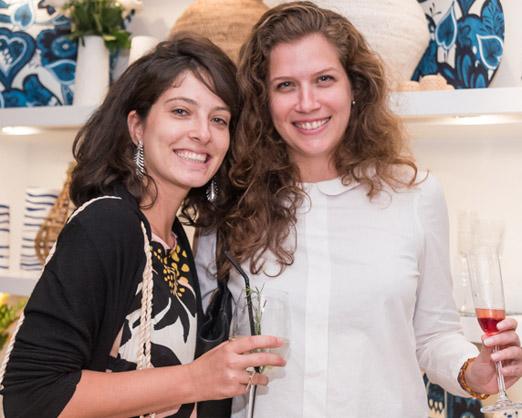 Debora Accioly e Ana Luiza Goulart