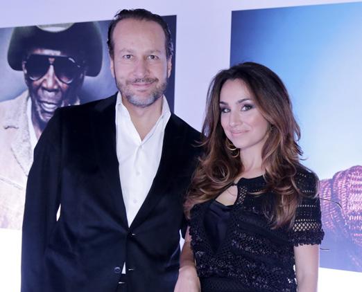 Eduardo Aron e Milena Machado