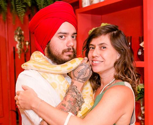 Eloi Nascimento e Silvia Machete