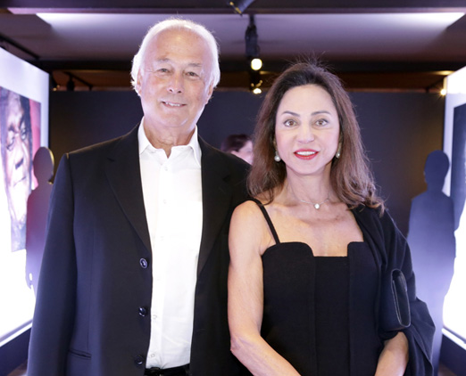 Fabio Navajas e Dora Zarzur