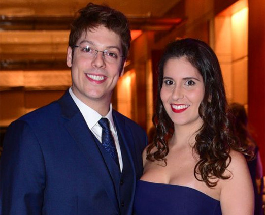 Fabio Porchat e Nataly Mega
