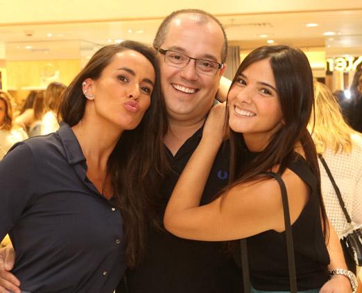 Francisca Pereira, Michel Diamant e Duda Camarão