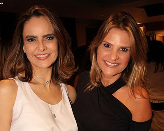 Gabriela Vasconcellos e Adriana Indelli